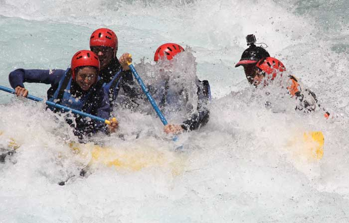 Rafting, piraguas y barrancos