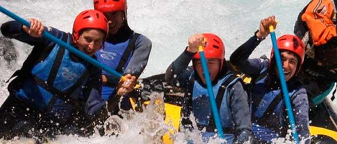 rafting en pirineos rio ara