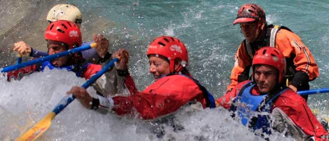 rafting rio gallego