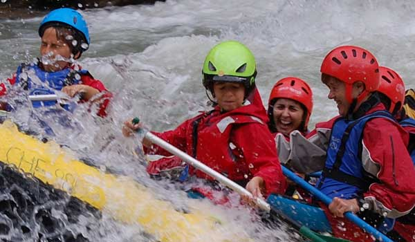 Actividades de aventura en familia