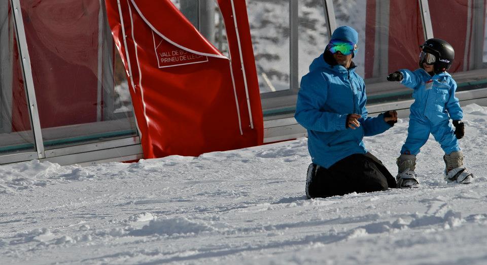 clases de esquí baqueira y boi taull