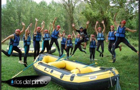 Rafting, Kayaks, Barrancos