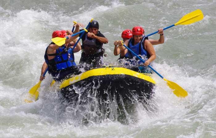 Rafting rio noguera pallaresa