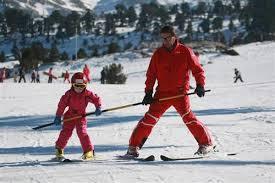 profesor y clases de esqui boi taull