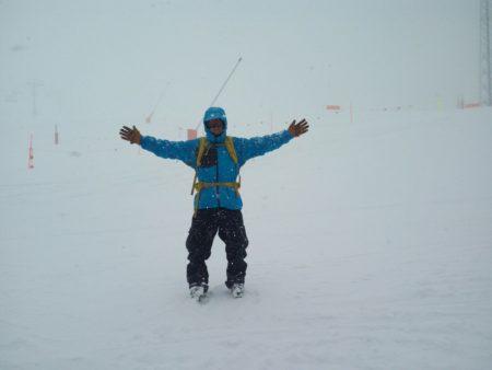 esquiando en Baqueira Beret